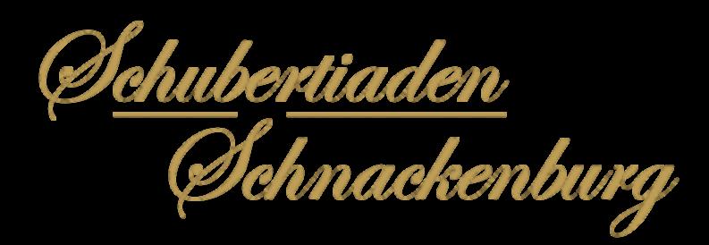 25. Schubertiaden Schnackenburg | 5.-10. September 2017